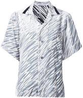 G.V.G.V. velvet shortsleeved shirt - women - Cupro/Rayon - 34
