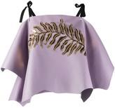 Prada sequin-embellished asymmetric top
