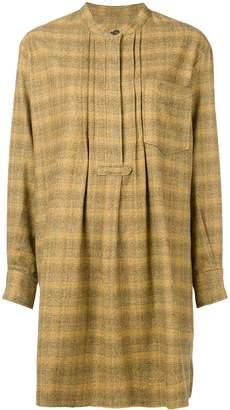 Etoile Isabel Marant checked shift dress
