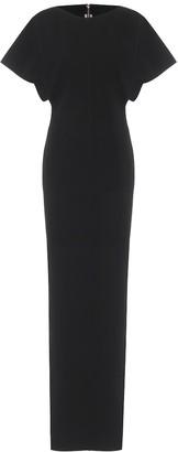 Rick Owens Naska cotton-blend jersey maxi dress
