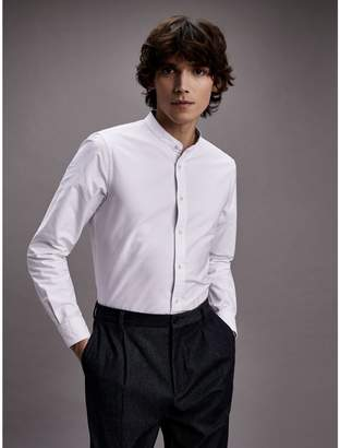 Tommy Hilfiger Slim FitMandarin Collar Dress Shirt