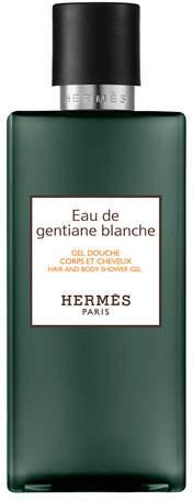 Hermes Eau de Gentiane Blanche Hair and Body Shower Gel, 6.5 oz./ 200 mL