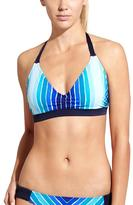 Athleta Water Stripe Halter Bikini