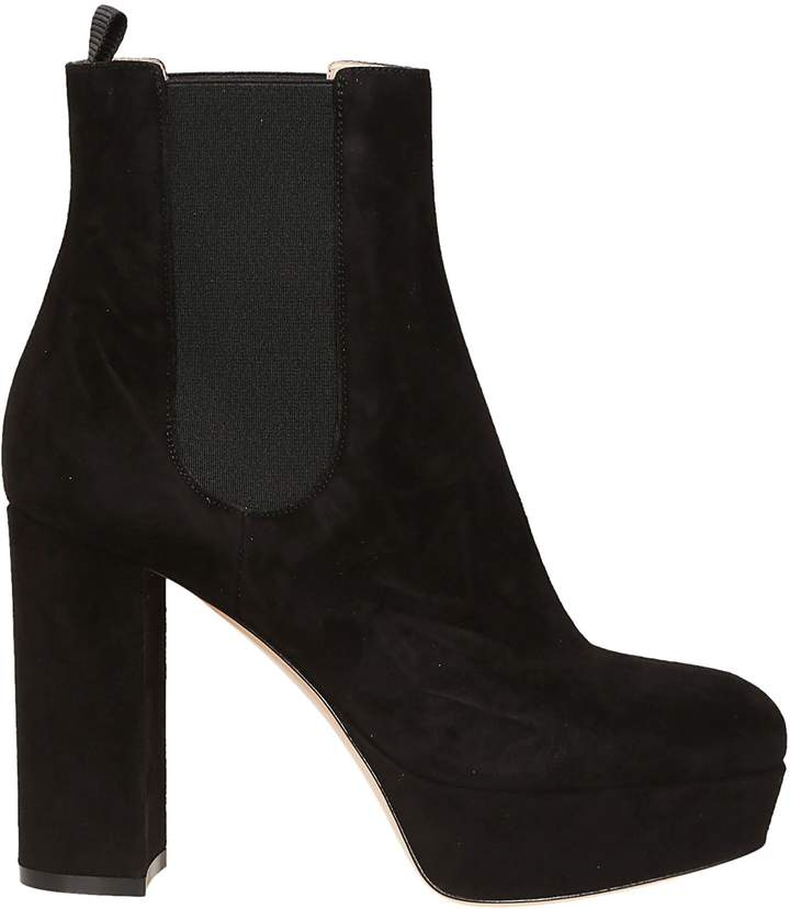 Gianvito Rossi High Block Ankle Boots