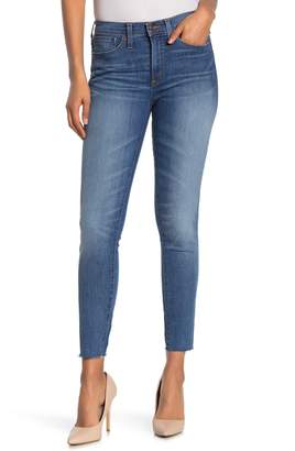 J.Crew Fray Hem Toothpick Jeans