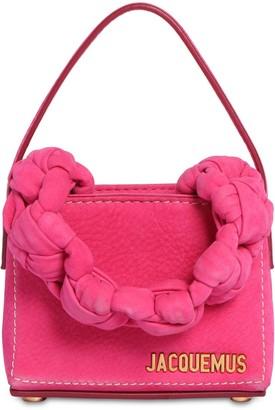 Jacquemus Le Petit Sac Noeud Leather Bag