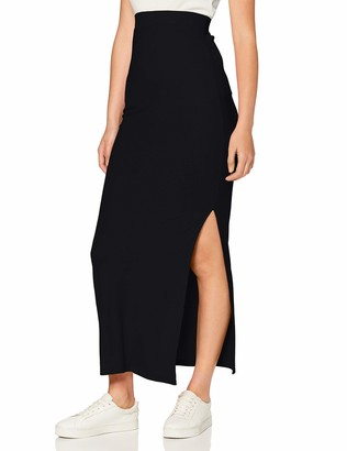 Meraki Standard Women's Rib Maxi Skirt