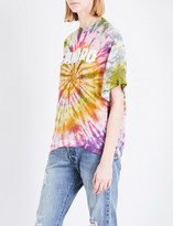 Sandro Tie-dye satin T-shirt