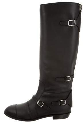 Giuseppe Zanotti Cap-Toe Knee-High Boots