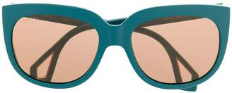 Gucci side window frame sunglasses