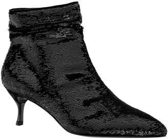 Nina Florie Kitten Heel Sequins Booties Women Shoes