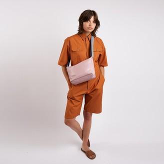 Kate Sheridan Brick Wax Short Boiler Suit - S