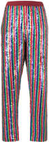 Ashish Rainbow sequin trousers