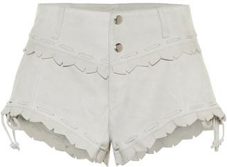 Isabel Marant Aleixo suede shorts