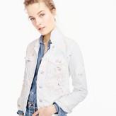 J.Crew Limited-edition denim jacket in paint splatter