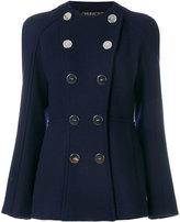 Giambattista Valli button embroidered fitted blazer
