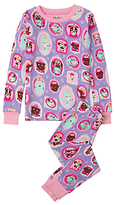 Hatley Children's Princess Puppy Print Pyjama Set, Lilac