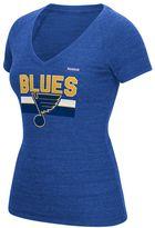 Reebok Women's St. Louis Blues Stacked Tee