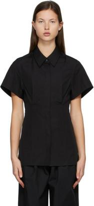 Esse Studios Black Cotton Short Sleeve Shirt
