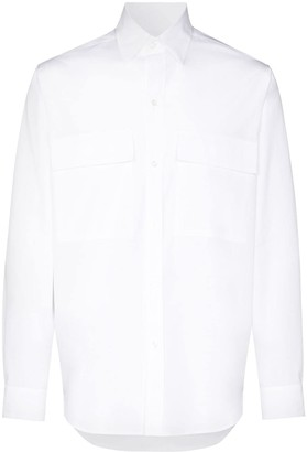 Lou Dalton Long-Sleeve Cotton Shirt