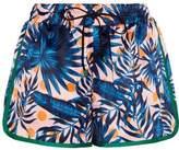 Sjyp Printed Satin Shorts
