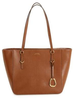 Lauren Ralph Lauren Bennington Leather Mini Tote
