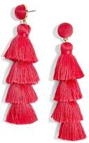 BaubleBar Women's Gabriela Tassel Fringe Earrings
