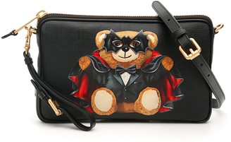 Moschino Bat Teddy Bear Crossbody Bag