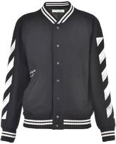 Off-White Wool Bomber Jacket