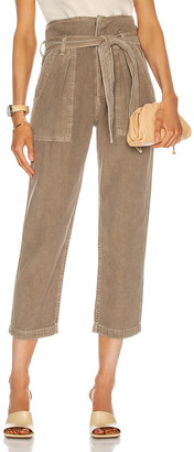 Citizens of Humanity Noelle Belted Cargo Pant in Desert Taupe | FWRD