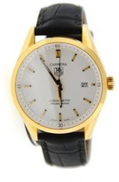 Tag Heuer Carrera WV5140.FC8159 18K Yellow Gold and Black Leather Automatic 39mm Watch
