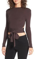 NBD Women's Desiree Cutout Ribbed Top