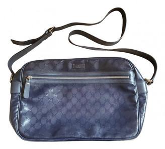 Gucci Blue Cloth Bags
