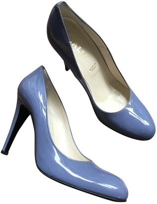 Bally Turquoise Patent leather Heels