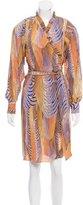 Paul & Joe Printed Midi Dress w/ Tags