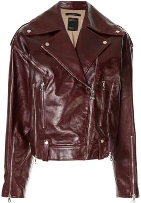Rokh Zipped Biker Jacket