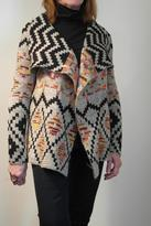 John Fashion Warm Aztec Knit