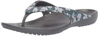 Crocs Women's Kadee II Seasonal Graphic Flip Flop