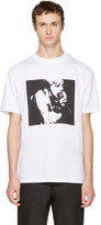 McQ by Alexander McQueen White 'Usual/Usual' T-Shirt