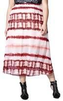 MBLM Plus Plus Tie-Dye Maxi Skirt