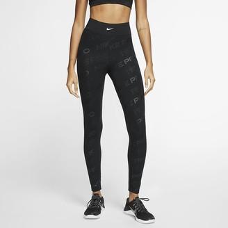 Nike Women's Printed Tights Pro