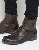 Jack & Jones Siti Warm Lining Leather Boots