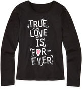 JCPenney Total Girl Long-Sleeve Graphic Tee - Girls 7-16 and Plus