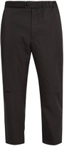 Oamc Troop tapered-leg cropped twill trousers