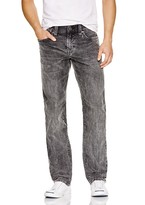 True Religion Ricky Relaxed Fit Jeans in Iron Cast