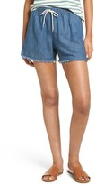 Madewell Women's Raw Hem Denim Shorts