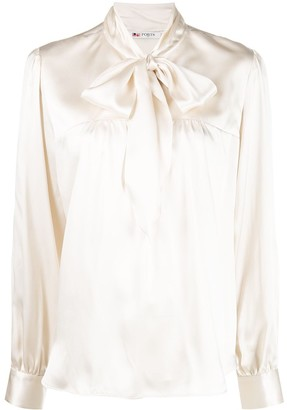 Ports 1961 Pussy-Bow Blouse
