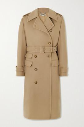 Stella McCartney Wool Trench Coat - Beige