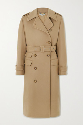 Stella McCartney Wool Trench Coat - Beige
