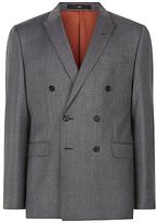Jaeger Wool Twill Slim Suit Jacket, Grey